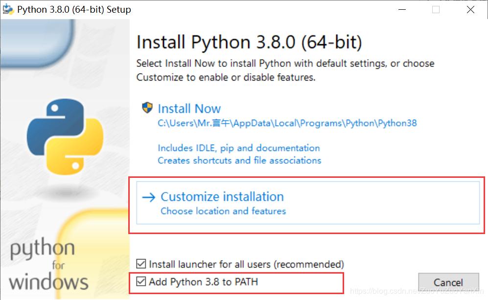 python3.8下载及安装步骤详解